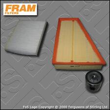 KIT di servizio FORD MONDEO MK4 1.6 BENZINA FRAM Aria Olio Cabina filtri (2007-2014)