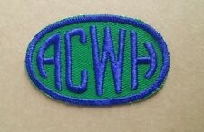 ACWH UNKNOWN BLUE/GREEN PATCH