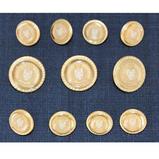 Gold Metal Blazer Buttons Set For Suit  Blazer  Sport Coat High Quality1