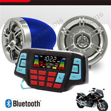 UTV,ATV, Motorcycle AMP Speakers USB Audio System Stereo Waterproof Bluetooth