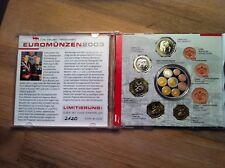 """5 000 exp  coffret """"CD""""  5P + superbe médaille   Monaco 2003"""