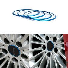 4pcs Blue Alloy Wheel Center Hub Ring Adorn Cover Trim For BMW X6 E71 F16 08-17