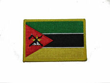 Mozambique Country Iron On Patch