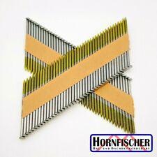 500 Stück Nägel Streifennägel 34° für Druckluftnagler 75 x 3 mm