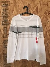 NIKE TENNIS COURT LONG SLEEVE T SHIRT WHITE SIZE MEDIUM NEW WITH TAGS BO