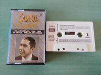CARLOS Gardel exitos Tangos 50 Anniversary Spain Edition - Cinta Tape Cassette