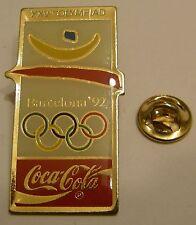 Pins coca cola Olympics BARCELONA 1992 XXVth OLYMPIAD