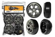 Fire Brand RC HYDRA–XD 1:10 ON ROAD DRIFT 0°  WHEEL / TIRE SET (4)