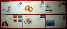 Set of 6 PRC PEOPLE'S REPUBLIC OF CHINA 1989 Stamps Postage Cover FDC Collection