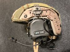 Z Tactical SORDIN  Military Style Headset with ARC Rail Adaptor - FG