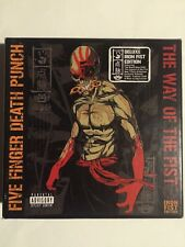Five Finger Death Punch Way of the Fist Iron Fist Edition VERY RARE + TShirt
