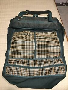 Kensington Green Plaid Blanket/Wrap Bag