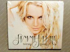 BRITNEY SPEARS  -  FEMME FATALE  -  CD 2011 DIGIPACK  NUOVO E SIGILLATO