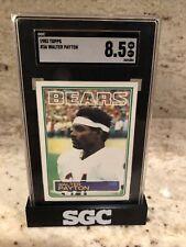 1983 Topps WALTER PAYTON #36 Chicago Bears SGC 8.5