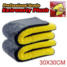 Car 850GSM Thicken Plush Microfiber Towel Automotive Cleaning Polishing Cloth