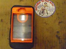 I Phone Iv, Otter Box, Orange/Camo, Case/Cover.#