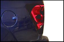 Vinyl Decal Rear Brake Light Wrap Skull Kit for Jeep Grand Cherokee 05-10 Black