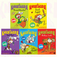 Knightmare 5 Books Collection Set By Peter Bently (Life Stinks!) Paperback New