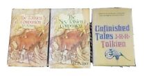 Unfinished Tales J.R.R. Tolkien, The Tolkien Companion 3 book lot