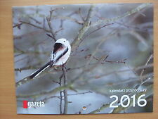 NATURE - CALENDAR 2016 / Kalendarz Przyrodniczy 2016