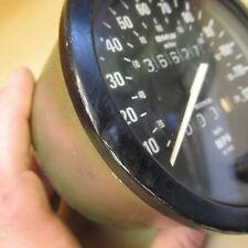 BMW White Face R65 Speedometer Motometer 36627 mi.