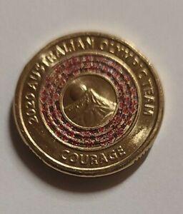 2020 AUSTRALIAN OLYMPIC TEAM 'COURAGE' $2 Dollar Coin