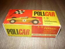 POLICAR BOX REPLICA P50 FERRARI F1 SLOT CAR PISTA ELETTRICA SCALA 1/32
