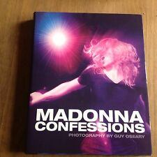 Madonna confessions book, glossy preview book