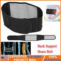 Adjustable Back Support Brace Belt Lumbar Lower Waist Pain Relief Waist Trimmer
