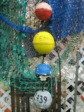 Authentic Florida Crab Lobster Buoys Fishing Floats Tropical Tiki Island Bouys
