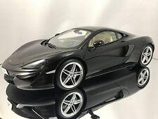 Top Speed / TSM McLaren 570S Fire Black Sealed Resin Car Model 1/18