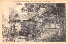 Allenstown New Hampshire Bear Hill Pond Camp Craft House Antique Postcard K63655