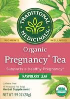 TEA ORGANIC PREGNANCY RASPBERRY LEAF Traditional Medicinals (16 bags) FREE Ship