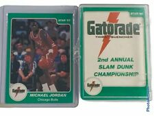 🔥 1984-85 Star Company Gatorade Slam Dunk Set • Michael Jordan Rookie