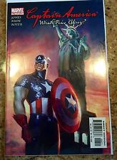 Captain America: What Price Glory #4 NM (2003, Marvel) Signed By STEVE RUDE