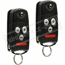 2 Replacement For 2009 2010 2011 2012 2013 2014 Acura TL Key Fob Remote