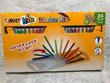 Bic Kids Marker Kits- 24 Total, Water Based Markers- 2 Kits, Washable!