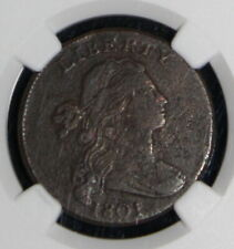 1801 Very Fine Details NGC Graded Draped Bust Large Cent