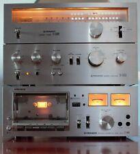 Pioneer Stereo Set Vintage (Tape deck and Tuner)