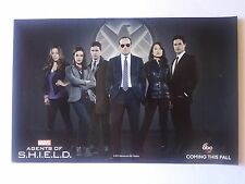 """""""Marvel AGENTS OF S.H.I.E.L.D."""" 2013 SDCC Double Sided Poster - ABC TV 13"""" x 20"""""""