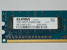 1gb Elpida ddr2-ram Ebe 10 UE 8 AEFA-memoria 8g-e 1rx8 pc2-6400u-666 240 PIN