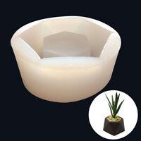 Hexagon Mini Flower Pot Silicone Mold DIY Handmade Crafts Succulent Planter Tool