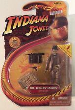 New listing Indiana Jones Last Crusade Dr. Henry Jones Sr. action figure New Sean Connery