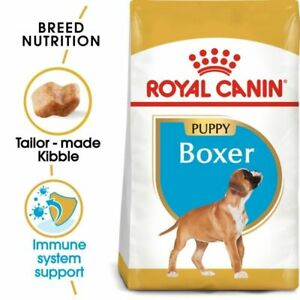 Boxer Puppy Dry Dog Food Royal Canin Complete Kibble High Quality Protein 12kg