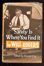 Sanity Is Where You Find It by Will Rogers, 1955
