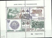Spain  Edifil # 2641 (o)  Set Museo Postal Primer dia