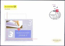 BRD 2012: Ergänzungsmarke! Post-FDC der selbstklebenden Nr. 2967! 1801