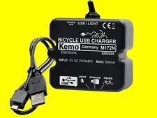 KEMO M172N FAHRRAD LADEREGLER USB-A+MICRO Dynamo-Ladegerät NAVI HANDY MP3 PDA 5V