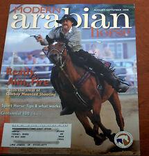 Arabian Horse Magazine Aug/Sept 2008 Shooting Horseback Sport Shows Result Bits