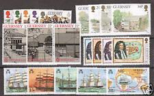 Guernsey Sc 255/371 Mnh. 1983-88, 5 cplt sets Vf